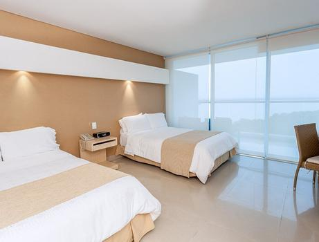 STANDARD TWO DOUBLE BED ROOM Sonesta Hotel Cartagena Cartagena de Indias
