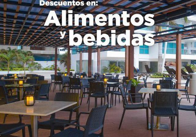 Food and Beverage Discount Sonesta Hotel Cartagena Cartagena de Indias
