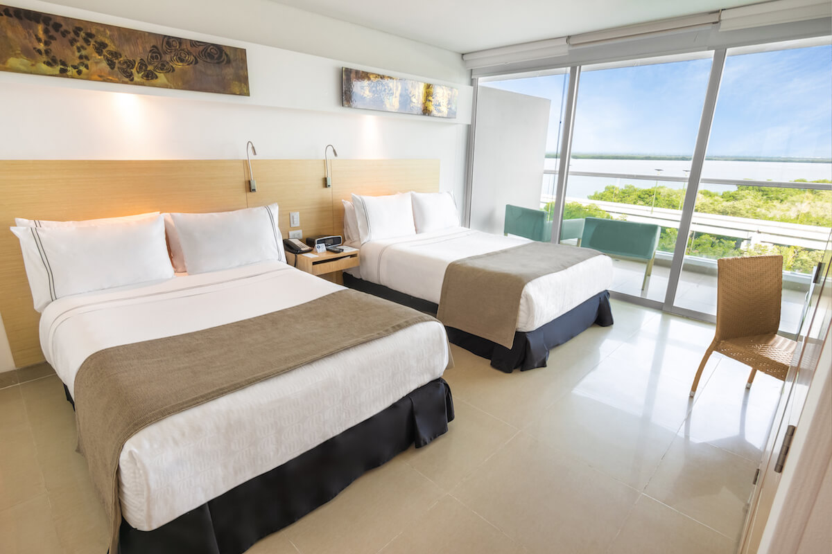 Double room Sonesta Hotel Cartagena